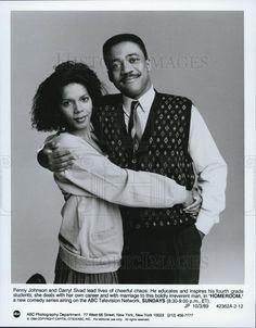 1989 Press Photo Penny Johnson Darryl Sivad Homeroom Comedy Television Series
