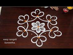 Rangoli With Dots, Simple Rangoli, Drape Sarees, Free Hand Rangoli, Kolam Rangoli, Blouse Neck, Rangoli Designs, Blouse Designs, The Creator
