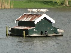 House boat.