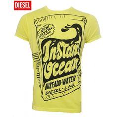 Diesel T-shirt Yellow T-Monster