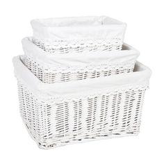 Rectangular Basket with Lace Trim | ZARA HOME United Kingdom