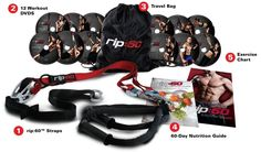 Rip:60 Training Kit, Home Gym and Fitness DVDs #rip60