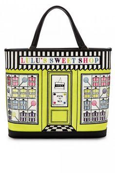 Lulu Guinness Chartreuse Sweet Shop Edith Bag
