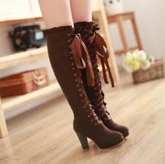 http://www.storenvy.com/products/7835637-elegant-fashion-tall-canister-boots-she0040