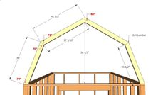 Shed Plans - common angles of shed roof mini homes | Barn Shed Plans | HowToSpecialist - How to Build, Step by Step DIY ... - Now You Can Build ANY Shed In A Weekend Even If You've Zero Woodworking Experience!