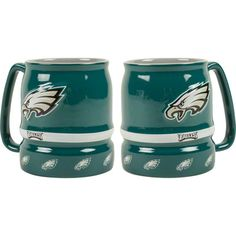 Perfect for hot cocoa! #Eagles Barrel Sculpted Mug $14.99