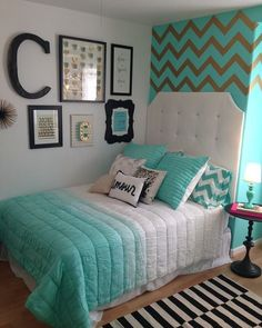 Bedding decor Turquoise bedroom Like bedding and decor Like bedding an Teenage Girl Bedrooms bedding Bedroom Decor Turquoise Bedding decor Turquoise … – Preteen Clothing Teal Teen Bedrooms, Girls Bedroom Turquoise, Teal Rooms, Teen Bedroom Designs, Cute Bedroom Ideas, Bedroom Themes, Girl Bedrooms, Turquoise Bedding, Preteen Girls Rooms