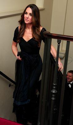 Kate Wears Jenny Packham for 100 Women in Hedge Funds Gala 24 Oct. 2013 #wkw