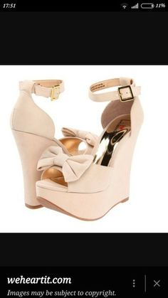 shoes beige wedges bows bow bow heels cream high heels cream nude nude high…