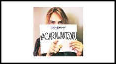 #caraDKNY #carawantsyou #fashion #model