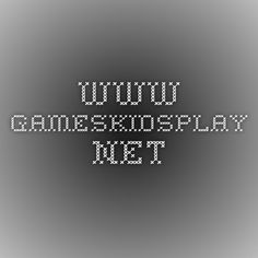 www.gameskidsplay.net
