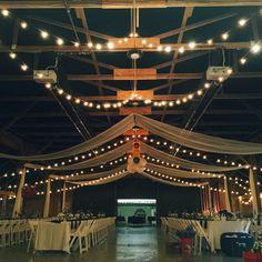 Barn Wedding #rusticwedding #weddingvenue #countrywedding www.JamestownAwning.com