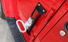 FMtoppeak Black Exterior Accessories Steel Door Side Step Running Board Plate Kit For Jeep Wrangler jk 2007-2016: Amazon.ca: Electronics