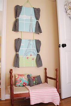 Cute Girl room idea