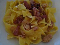 La buona cucina di katty: Tagliatelle con cipolla di Tropea, tonno e limone