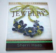 Felt Fabric and Fiber Jewelry 20 Beautiful by pixiesinthehouse, $8.00