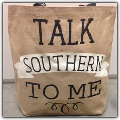 MUDPIE Talk Southern To Me Tote | Merle Norman and Boutique