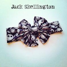 Jack Skellington Nightmare before Christmas Messy by Messybowinc, $13.00