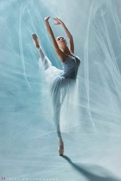 Ballerina in blue. Ballet art photo by Trinh Xuan Hai. Ballet Art, Ballet Dancers, Ballerinas, Shall We Dance, Lets Dance, Dance Photos, Dance Pictures, Dance Like No One Is Watching, Ballet Photography