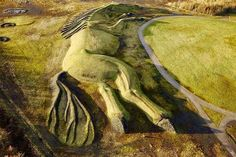 200m Horse Sculpture in Wales by Mick Petts