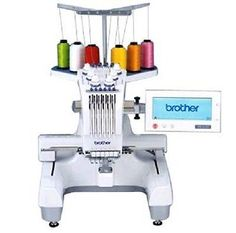 Brother PR-620 6 Needle Embroidery Machine Demo Model-Somebody please buy this for me!!!!!