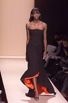 Carolina Herrera Fall 2000 Ready-to-Wear Fashion Show - Carolina Herrera, Oluchi Onweagba