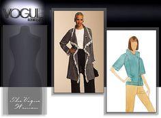 Vogue Patterns MISSES' JACKET AND PANTS 8483