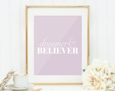 Flower Print Quote Prints Printable Wall Print Quote