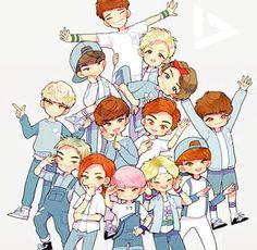 #Seventeen #AdoreU #FanArt