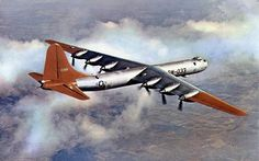 ❦ Convair B-36 Peacemaker My grandfather flew this as well. It's possible that's him looking at the topography.