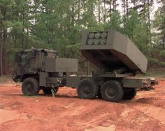 The M142 High Mobility Artillery Rocket System (HIMARS) is a U.S. light multiple rocket launcher mounted on a standard Army Medium Tactical Vehicle (MTV) truck frame. The HIMARS carries six rockets or one Army Tactical Missile System (ATACMS) missile on the U.S. Army's new Family of Medium Tactical Vehicles (FMTV) five-ton truck, and can launch the entire Multiple Launch Rocket System Family of Munitions (MFOM). HIMARS is interchangeable with the MLRS M270A1, carrying half the rocket load.