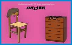 2015 - Double Surround #13: The Cure - Three Imaginary Boys (1979) #ilyablack #doublesurround #thecure #cure #threeimaginaryboys #postpunk #постпанк #album #albumreview #review #статья #обзор #art #artwork #graphic #design #illustration #minimal #gallery #арт #графика #иллюстрация #галерея #оформление