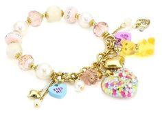 "Betsey Johnson ""Candy Land"" Candy Heart Multi-Charm Half Stretch Bracelet Betsey Johnson, http://www.amazon.com/dp/B0098AZSH8/ref=cm_sw_r_pi_dp_tZGbrb0B3E0SX"