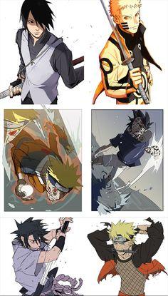 Evolution Of Naruto and Sasuke Naruto Shippuden Sasuke, Naruto Kakashi, Anime Naruto, Fan Art Naruto, Wallpaper Naruto Shippuden, Naruto Comic, Naruto Wallpaper, Manga Anime, Naruto Pictures
