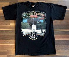 HARLEY-DAVIDSON 2015 Rolling Thunder POW-MIA Washington DC Black T-Shirt Men's M