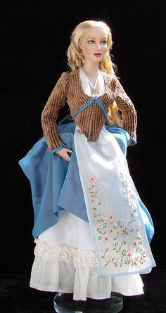 Katrina van Tassel from Sleepy Hollow movie - OOAK costume for doll