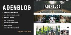ThemeForest - Aden v2.6 - Responsive WordPress Blog Theme