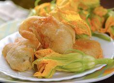La pastella per fiori di zucca si può preparare anche alla giapponese o con la birra: ecco come farlo