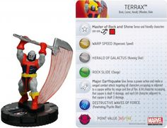 Terrax #045 Amazing Spider-Man Marvel Heroclix - Marvel: Amazing Spider-Man - Heroclix