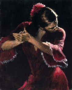 there's something mesmerising about flamenco dancer. The elegance and passion.