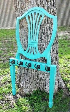 recycled storage ideas | recycling-wood-chairs-reuse-recycle-ideas (8)