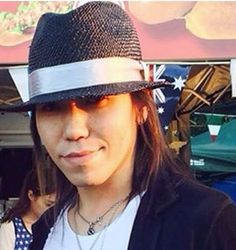 "the GazettE, Yuu ""Aoi"" Shiroyama, without make-up. He looks almost exactly the same! Oh Aoi! You handsome fella! (*^。^*) ♡"