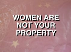Anyone is from your property. You can only control yourself.