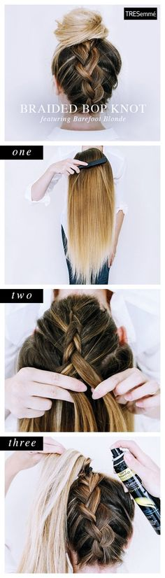 25 New and Easy Hairstyles to Try in 2018 #Hairstyles #2018 #quick Hairstyles