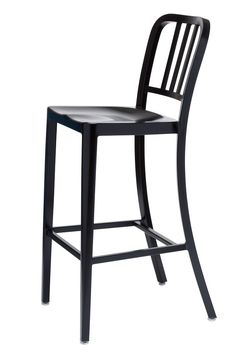 Bayne Injection Mould Outdoor Bar Stool Black Mould Outdoor
