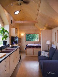 The Damselfly House: Zyl Vardos Tiny House on Wheels For Sale!