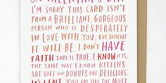 13 Perfectly Honest Valentine's Day Cards -Cosmopolitan.com