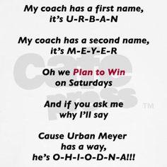 Urban Meyer Ohio State Football.