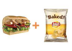 400 Calorie Fix Recipe: Subway Sandwich with Chips
