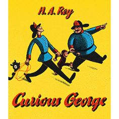 In this the original book about the curious monkey George is taken from the jungle by the man in the yellow hat- Top quality children's item- Provide your baby with the finest products on the market t